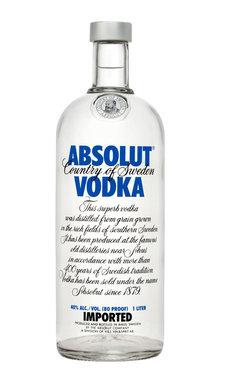 Absolut Vodka 1,0 ltr