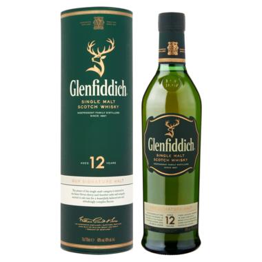 Glenfiddich 12 Years Single Malt 0,7 ltr